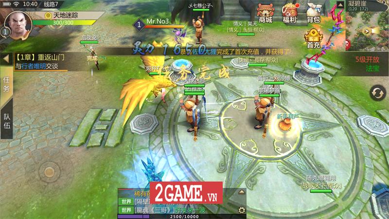 Thục Sơn Kỳ Hiệp Mobile - Tựa game nhập vai chuyển thể từ PC trên 10 năm tuổi cập bến Việt Nam 2