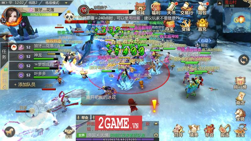 Thục Sơn Kỳ Hiệp Mobile - Tựa game nhập vai chuyển thể từ PC trên 10 năm tuổi cập bến Việt Nam 8