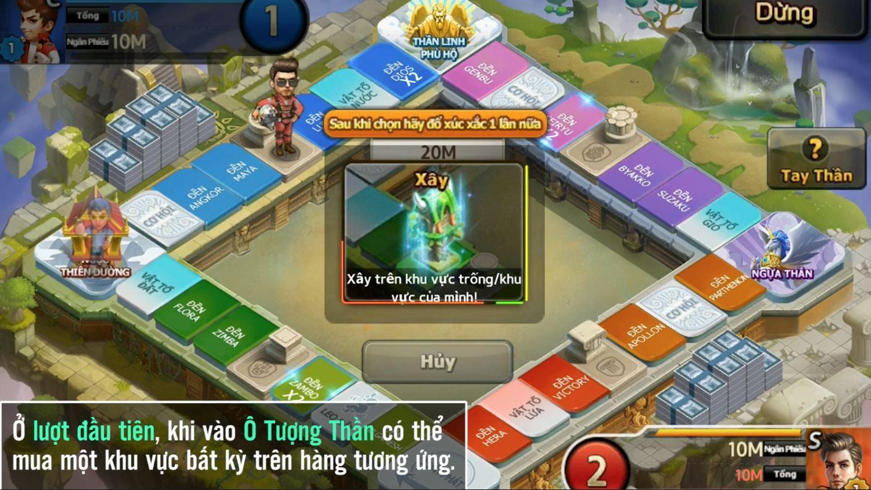 Cận cảnh bản đồ Tay Thần đặc sắc trong 360mobi Cờ Tỷ Phú vừa được VNG ra mắt 0