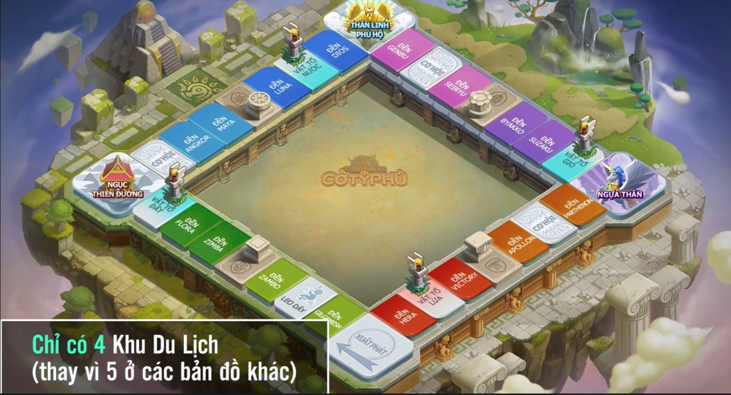Cận cảnh bản đồ Tay Thần đặc sắc trong 360mobi Cờ Tỷ Phú vừa được VNG ra mắt 3