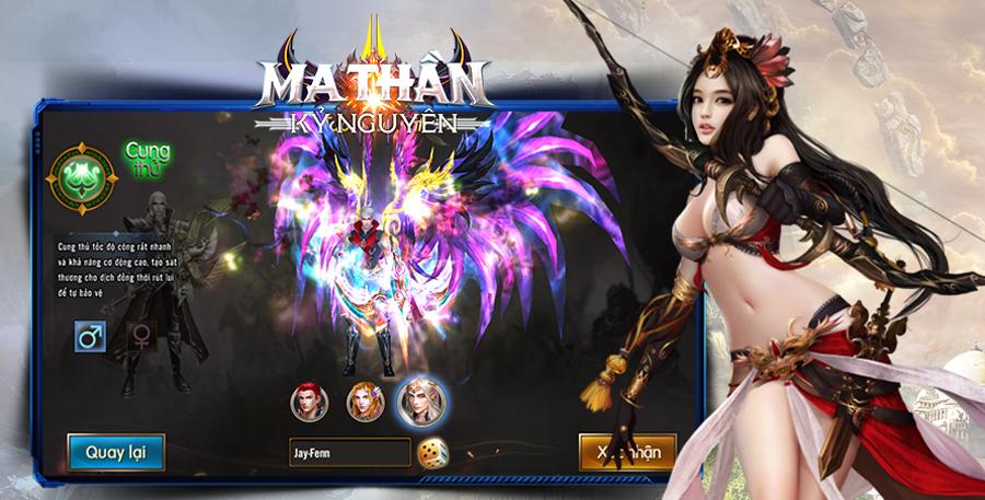 Kỷ Nguyên Ma Thần - Game mobile nhập vai dễ cày lại nhanh PK ra mắt game thủ Việt 0