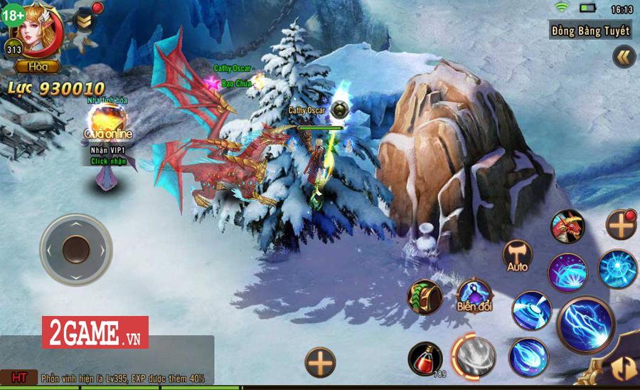 Kỷ Nguyên Ma Thần - Game mobile nhập vai dễ cày lại nhanh PK ra mắt game thủ Việt 5