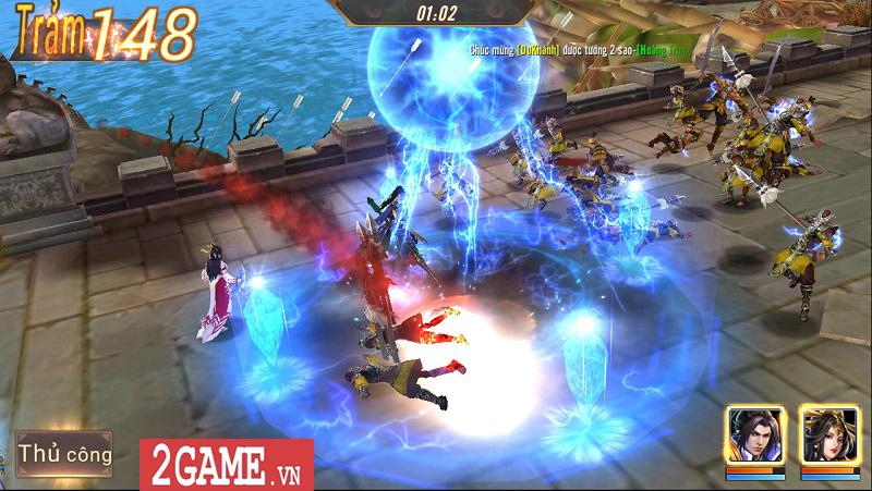 Trải nghiệm Võ Thần Vô Song: Game đấu thẻ tướng với những hiệu ứng kĩ năng mãn nhãn 2