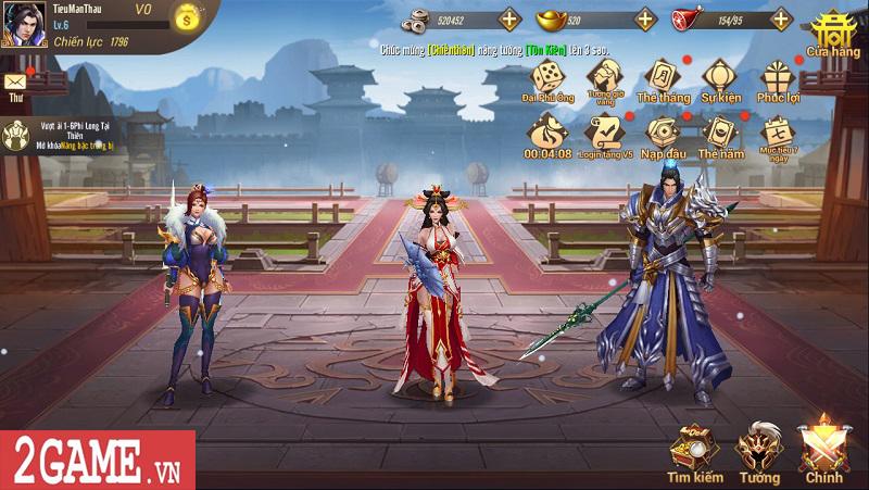 Trải nghiệm Võ Thần Vô Song: Game đấu thẻ tướng với những hiệu ứng kĩ năng mãn nhãn 13