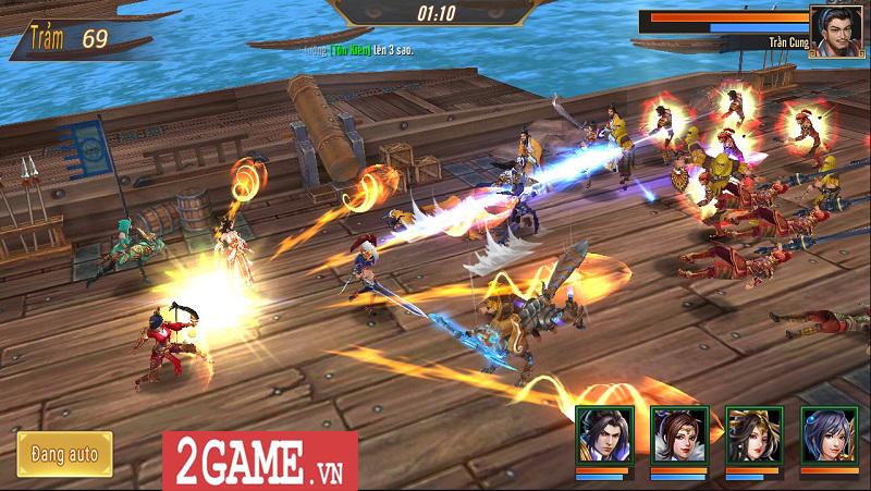 Trải nghiệm Võ Thần Vô Song: Game đấu thẻ tướng với những hiệu ứng kĩ năng mãn nhãn 6