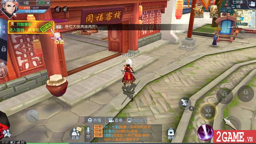 Game chuyển thể từ PC mang tên Võ Lâm Ngoại Truyện Mobile được mua về Việt Nam thành công 6