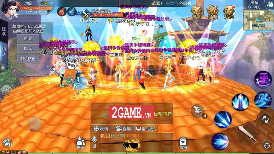 Game chuyển thể từ PC mang tên Võ Lâm Ngoại Truyện Mobile được mua về Việt Nam thành công 9