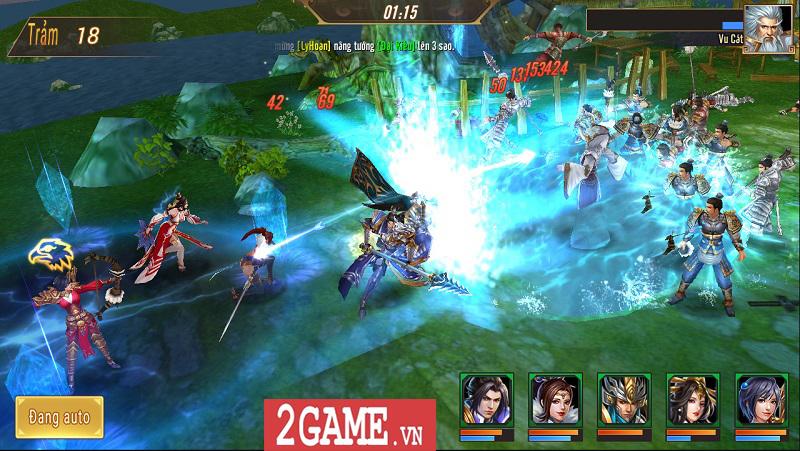 Trải nghiệm Võ Thần Vô Song: Game đấu thẻ tướng với những hiệu ứng kĩ năng mãn nhãn 7