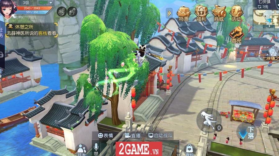 Game chuyển thể từ PC mang tên Võ Lâm Ngoại Truyện Mobile được mua về Việt Nam thành công 7