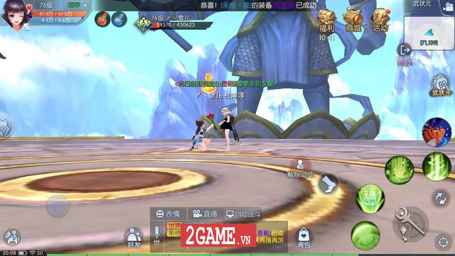 Game chuyển thể từ PC mang tên Võ Lâm Ngoại Truyện Mobile được mua về Việt Nam thành công 10
