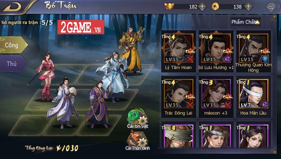 Đánh giá Cổ Long Quần Hiệp Truyện Mobile: Lối chơi dễ nắm bắt được cái hình ảnh rất nghệ thuật 6