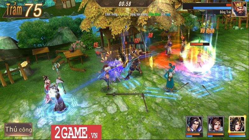 Trải nghiệm Võ Thần Vô Song: Game đấu thẻ tướng với những hiệu ứng kĩ năng mãn nhãn 3