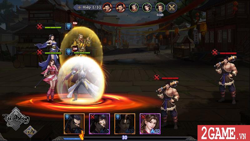 Đánh giá Cổ Long Quần Hiệp Truyện Mobile: Lối chơi dễ nắm bắt được cái hình ảnh rất nghệ thuật 8