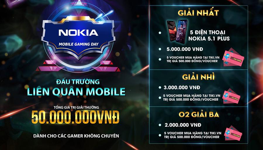 Nokia Mobile Gaming Day tổ chức giải đấu Liên Quân Mobile dành cho các game thủ không chuyên 0