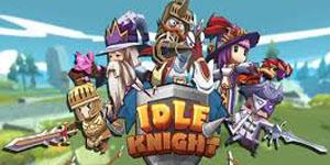 """Idle Knight – Fearless Heroes: Game nhập vai thẻ tướng tự động, """"không chơi cũng thắng"""""""