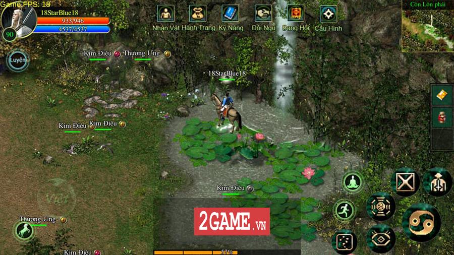 Võ Lâm Việt Mobile dường như đã vượt qua giới hạn của một game chuyển thể nguyên bản từ PC 3
