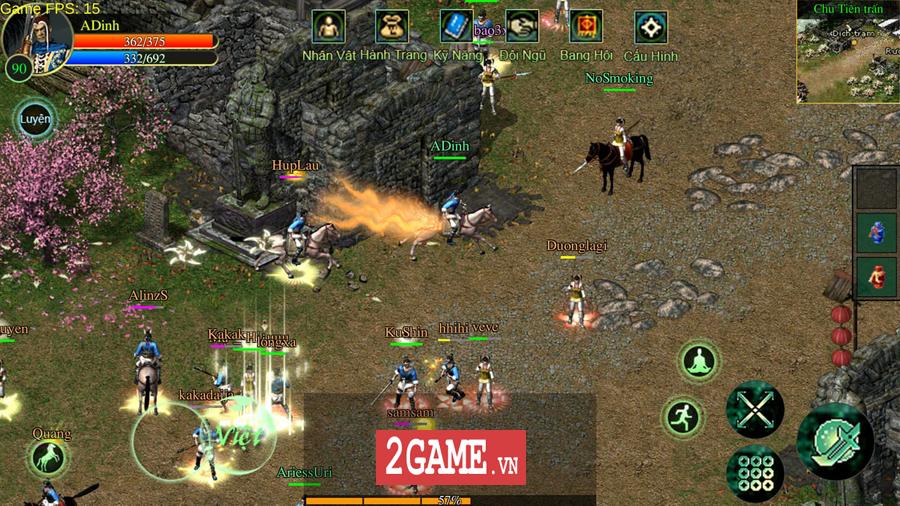 Võ Lâm Việt Mobile dường như đã vượt qua giới hạn của một game chuyển thể nguyên bản từ PC 15