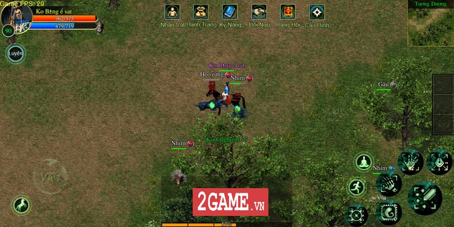 Võ Lâm Việt Mobile dường như đã vượt qua giới hạn của một game chuyển thể nguyên bản từ PC 17