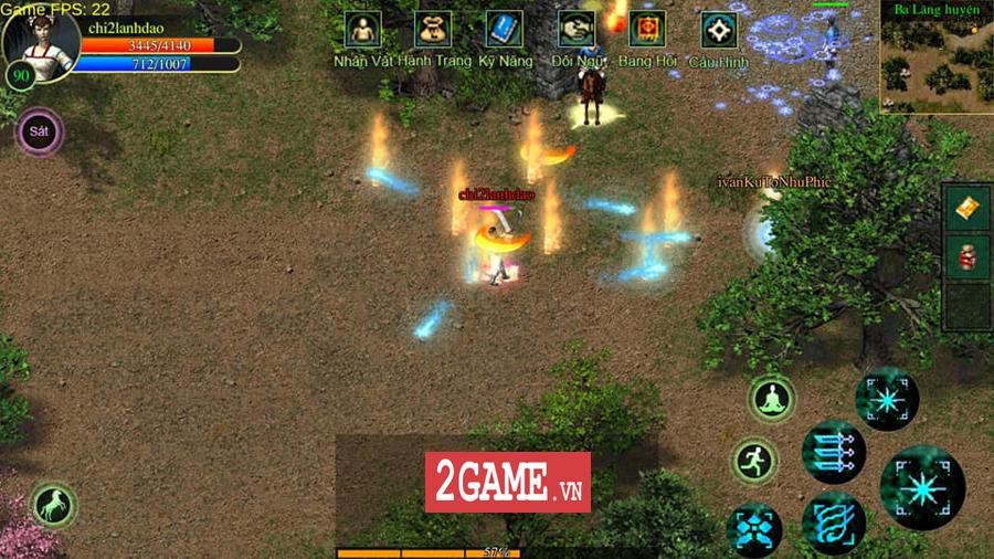 Võ Lâm Việt Mobile dường như đã vượt qua giới hạn của một game chuyển thể nguyên bản từ PC 10