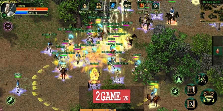 Võ Lâm Việt Mobile dường như đã vượt qua giới hạn của một game chuyển thể nguyên bản từ PC 16