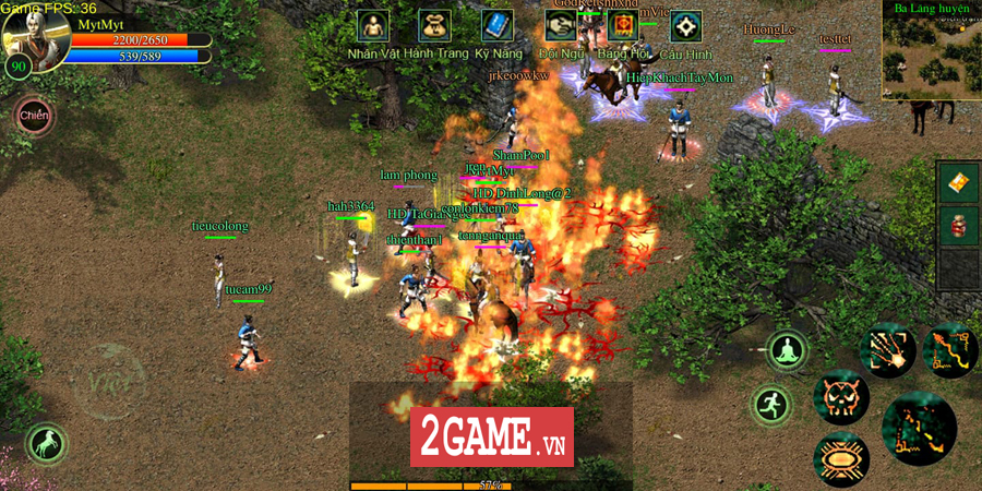 Võ Lâm Việt Mobile dường như đã vượt qua giới hạn của một game chuyển thể nguyên bản từ PC 14
