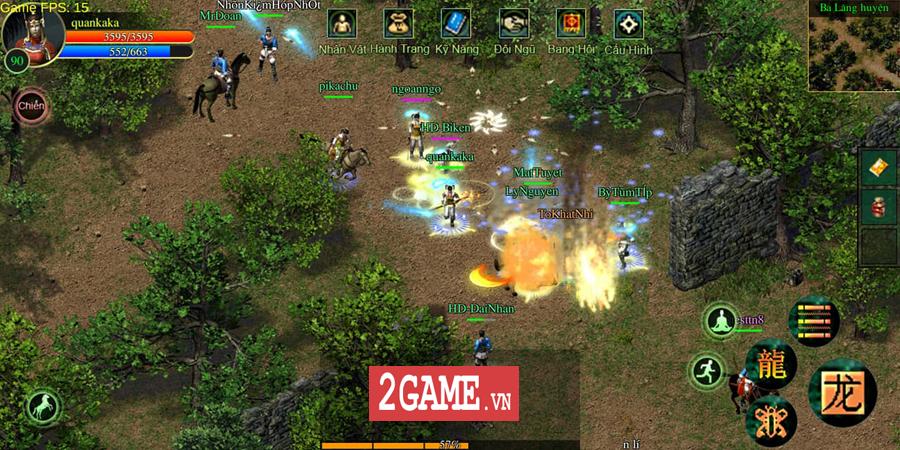 Võ Lâm Việt Mobile dường như đã vượt qua giới hạn của một game chuyển thể nguyên bản từ PC 12