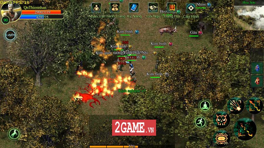Võ Lâm Việt Mobile dường như đã vượt qua giới hạn của một game chuyển thể nguyên bản từ PC 6