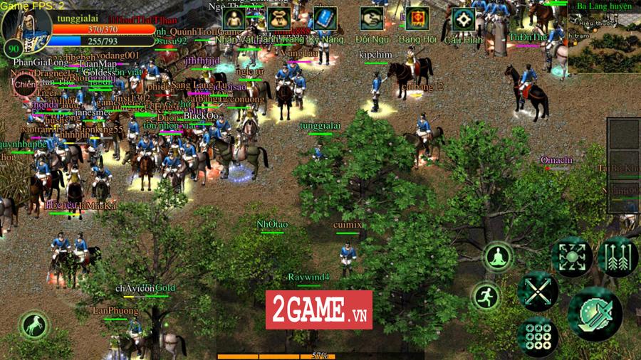 Võ Lâm Việt Mobile dường như đã vượt qua giới hạn của một game chuyển thể nguyên bản từ PC 0