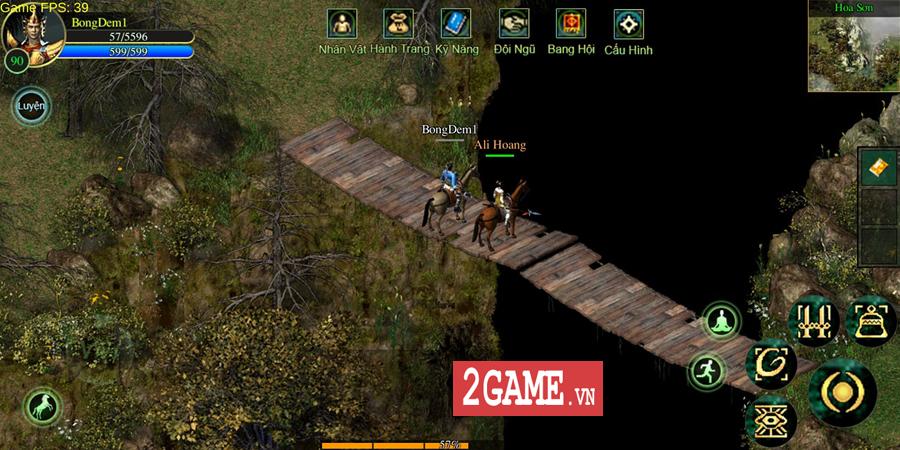 Võ Lâm Việt Mobile dường như đã vượt qua giới hạn của một game chuyển thể nguyên bản từ PC 2
