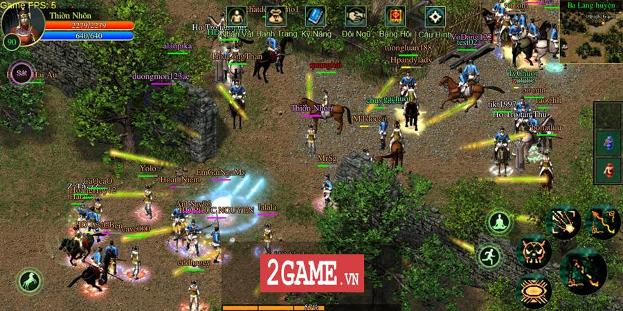 Võ Lâm Việt Mobile dường như đã vượt qua giới hạn của một game chuyển thể nguyên bản từ PC 19
