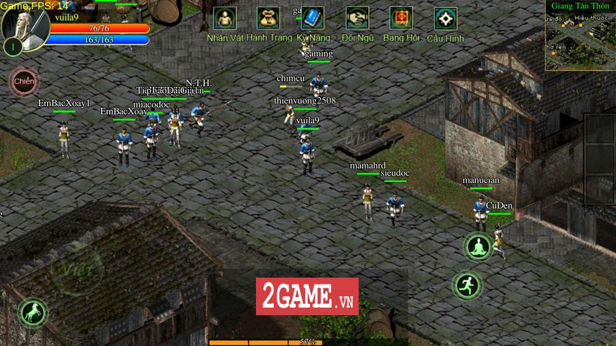 Võ Lâm Việt Mobile dường như đã vượt qua giới hạn của một game chuyển thể nguyên bản từ PC 8