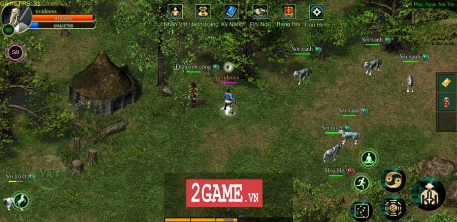 Võ Lâm Việt Mobile dường như đã vượt qua giới hạn của một game chuyển thể nguyên bản từ PC 7