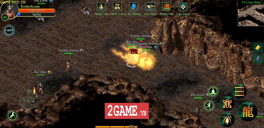 Võ Lâm Việt Mobile dường như đã vượt qua giới hạn của một game chuyển thể nguyên bản từ PC 4