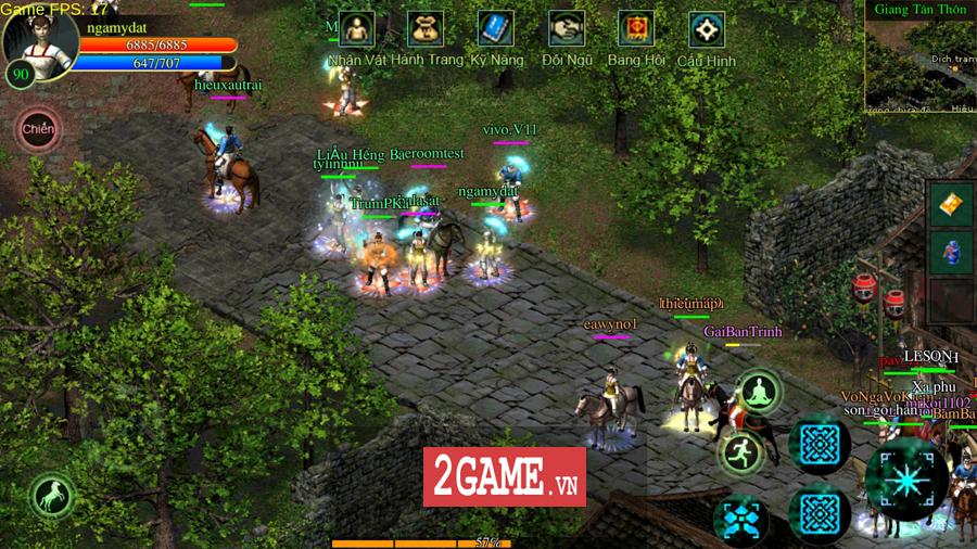 Võ Lâm Việt Mobile dường như đã vượt qua giới hạn của một game chuyển thể nguyên bản từ PC 11