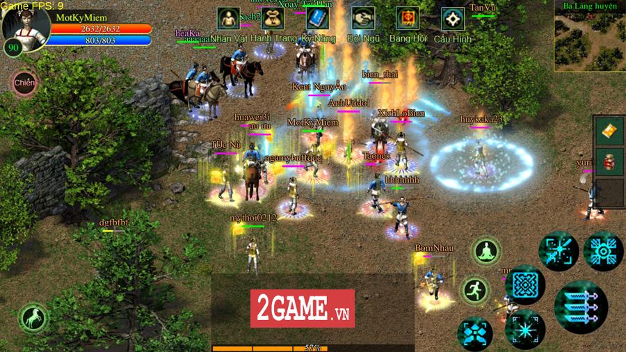 Võ Lâm Việt Mobile dường như đã vượt qua giới hạn của một game chuyển thể nguyên bản từ PC 1