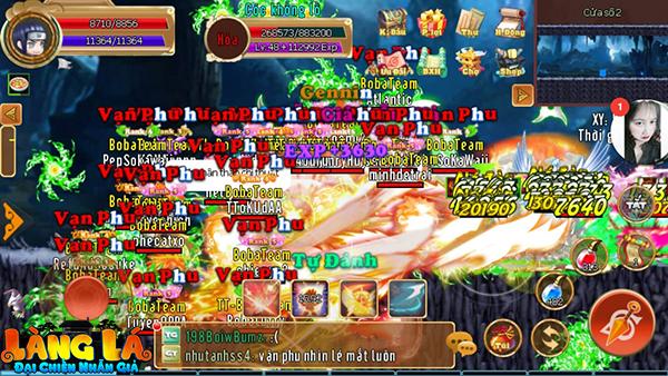 Tựa game này đã trở thành sân chơi lớn nhất dành cho cả gamer yêu thích MMORPG và các fan cuồng Naruto 2