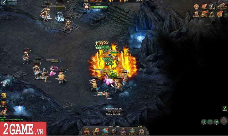 Trải nghiệm Võ Lâm Truyền Kỳ H5: Quay lại thời kỳ đỉnh cao của game kiếm hiệp chỉ bằng một cú click 3