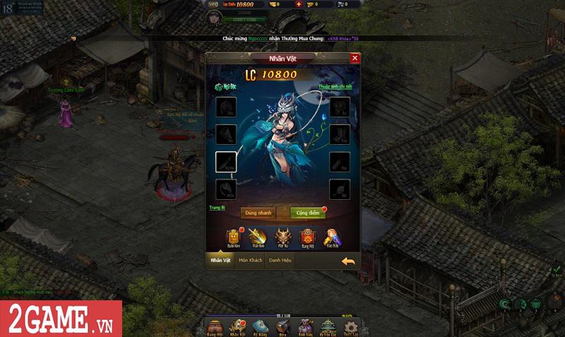 Trải nghiệm Võ Lâm Truyền Kỳ H5: Quay lại thời kỳ đỉnh cao của game kiếm hiệp chỉ bằng một cú click 13