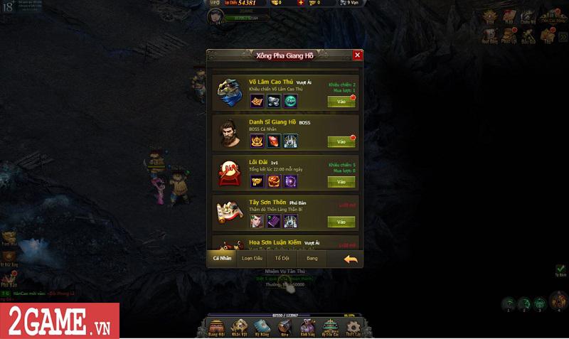 Trải nghiệm Võ Lâm Truyền Kỳ H5: Quay lại thời kỳ đỉnh cao của game kiếm hiệp chỉ bằng một cú click 12