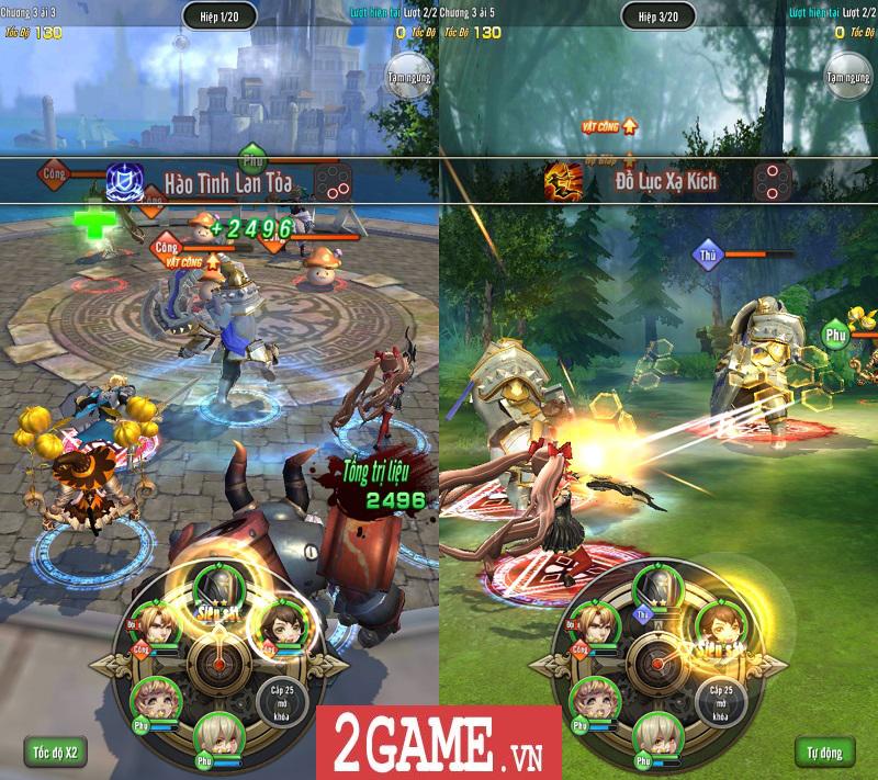 AR Triệu Hồi Sư Mobile thể hiện chất lượng nổi trội ngày Closed Beta không reset nhân vật 2