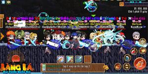 Tựa game này đã trở thành sân chơi lớn nhất dành cho cả gamer yêu thích MMORPG và các fan cuồng Naruto