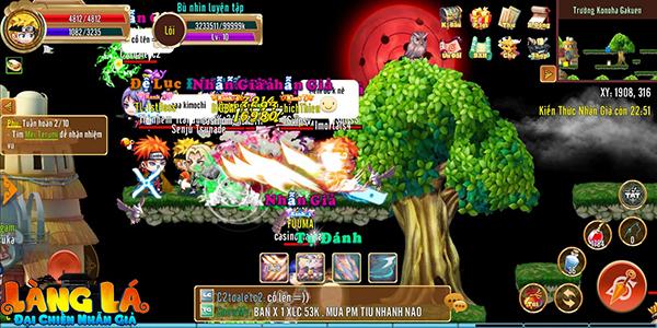 Tựa game này đã trở thành sân chơi lớn nhất dành cho cả gamer yêu thích MMORPG và các fan cuồng Naruto 4