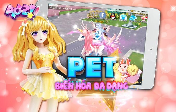 Game vũ đạo thời trang AU 2! Mobile chính thức đến tay game thủ Việt 1
