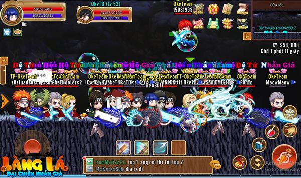 Tựa game này đã trở thành sân chơi lớn nhất dành cho cả gamer yêu thích MMORPG và các fan cuồng Naruto 0