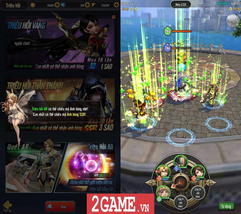 AR Triệu Hồi Sư Mobile thể hiện chất lượng nổi trội ngày Closed Beta không reset nhân vật 7
