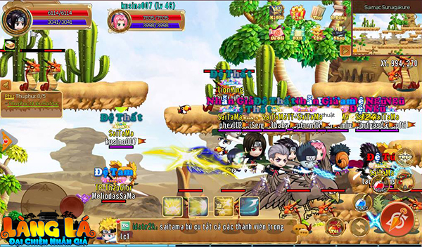 Tựa game này đã trở thành sân chơi lớn nhất dành cho cả gamer yêu thích MMORPG và các fan cuồng Naruto 7