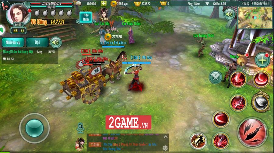 Tiêu Dao Giang Hồ Mobile - Cho phép người chơi một ngày luyện võ làm cỏ cả Võ lâm 4