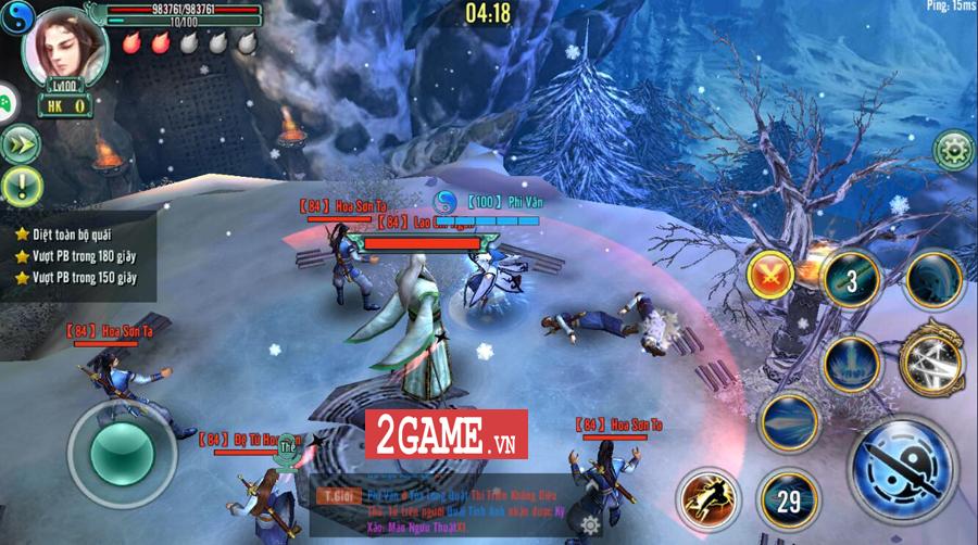 Tiêu Dao Giang Hồ Mobile - Cho phép người chơi một ngày luyện võ làm cỏ cả Võ lâm 5