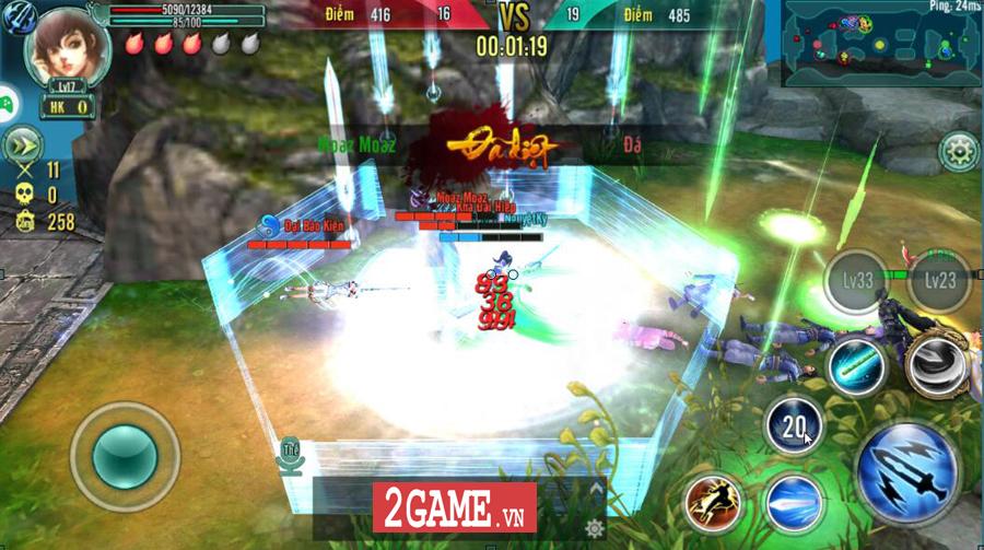Tiêu Dao Giang Hồ Mobile - Cho phép người chơi một ngày luyện võ làm cỏ cả Võ lâm 3
