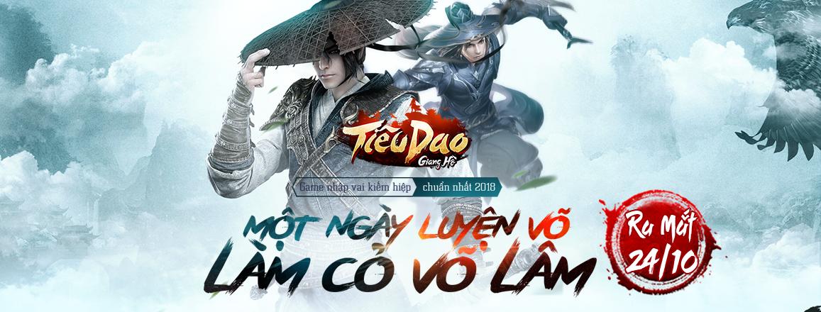 Tiêu Dao Giang Hồ Mobile - Cho phép người chơi một ngày luyện võ làm cỏ cả Võ lâm 0